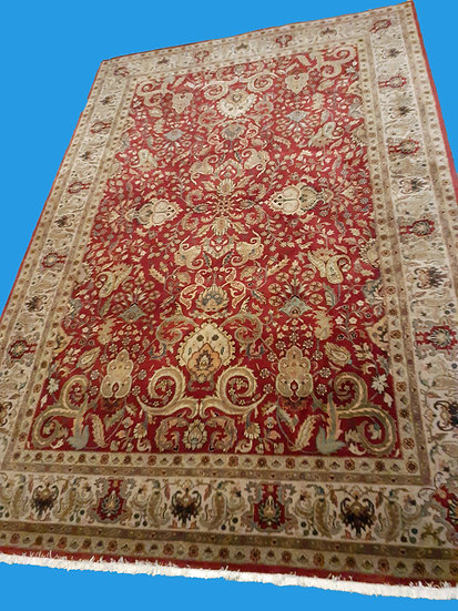 Hand Woven Turkish Rug,  Mogal Design