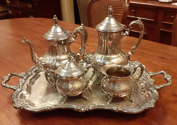 Towle Silver Plate 5 Pc. Tea Set