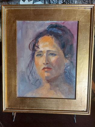 Isabel DeBlanc, Ajijic Artist, Portrait