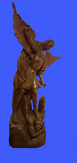 San Miguel Giant Wood Carving