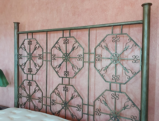 King Size Wrought Iron Bed, Hand Made in Mexico