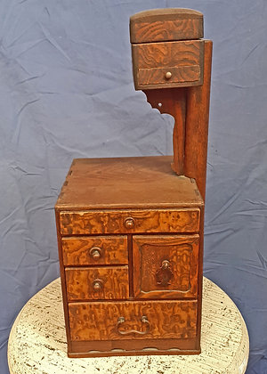 Antique Japanese Sewing Box, Special Wood, Excellent Condition