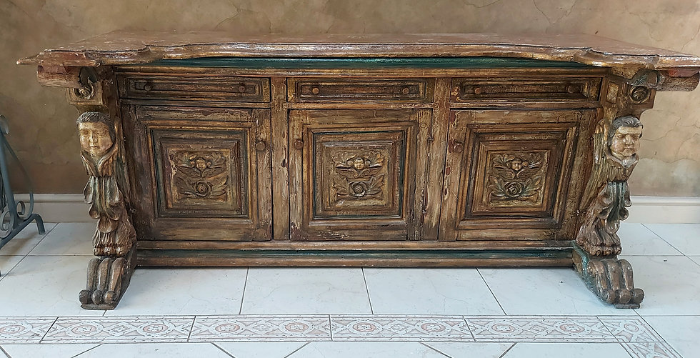 Casa-Canela-Spanish-Colonial-Design-Sideboard