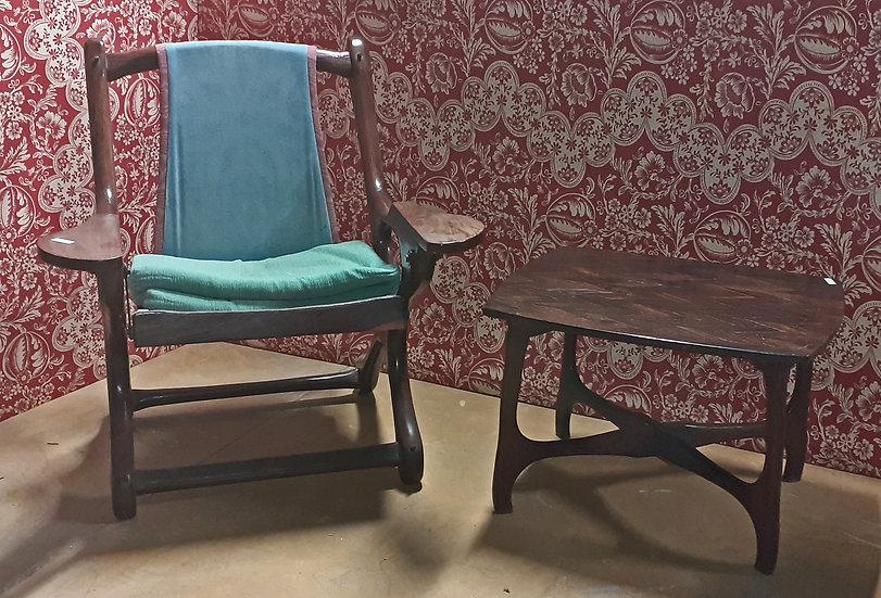 Don Shoemaker Swinger Arm Chair