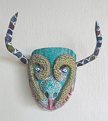 Original Michoacan Longhorn Steer Mask, Ocumichu