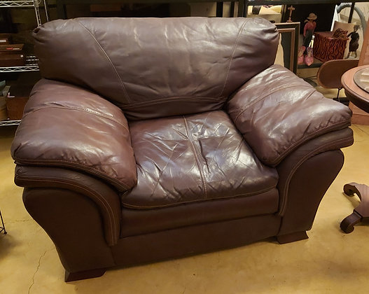 """""""Boal"""" Leather Arm Chair, Good Condition"""