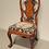 Thumbnail: Goergian Side Chair,  Walnut, Needlepoint Seat, ca. 1930's