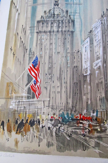 Pierre Pages , Pan-Am Building NYC, Artist Proof