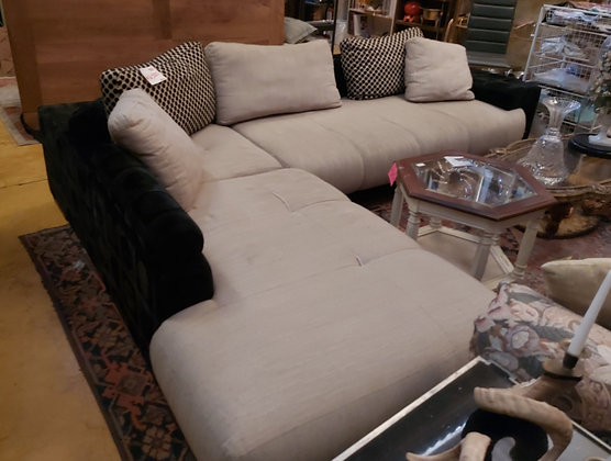 3 Pc. Sectional Sofa, as is condition, comfy!
