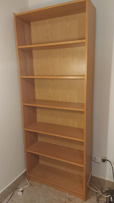 Basic Book Shelf with Removable Shelves, Good Condition