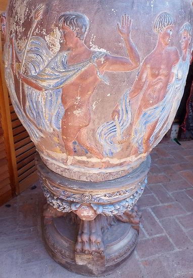 Pantaleon-Panduro-Tlaquepaque-urn-clay-greco-romano