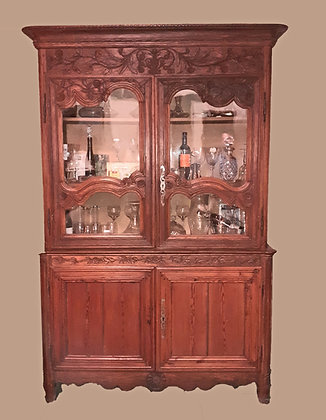 Country French Vitrine 19th C.