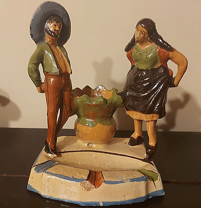 Jarabe Tapatio, Ashtray and Match Holder, Sold As-Is