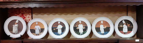William Sonoma Chefs Plate
