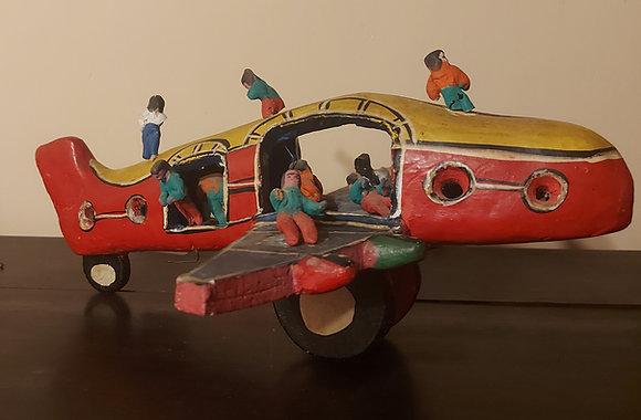 Candelario Medrano Toy Airplane, 1970's, Sta.Cruz de las Huertas