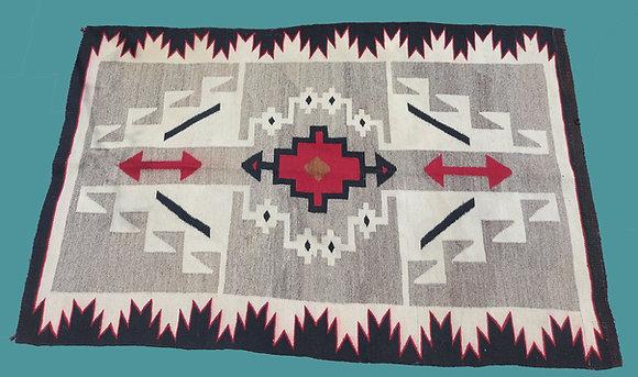 navajo-blanket-rug-two-grey-hills-vintage