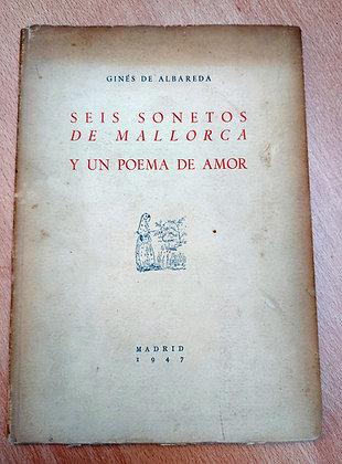 Seis Sonetos de Mallorca y Un Poema de Amor, 1947,  Albareda