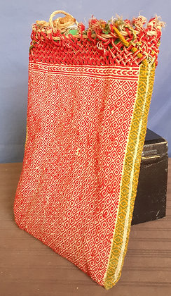 String Bag, Antique Mexican Weaving