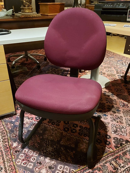 Contemporary Office Chairs, Two Available, Adjustable Backs