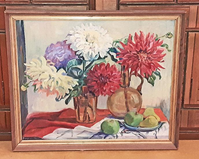 Marguerite Shafer, 1961, oil painting
