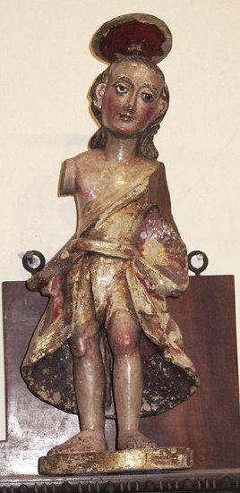 Spabish Colonial Figure of San Juan Bautista
