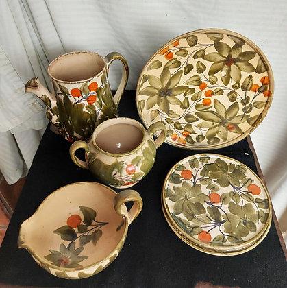 Vintage-decorated-clay-dishes-oaxaca-alfareria-jimenez