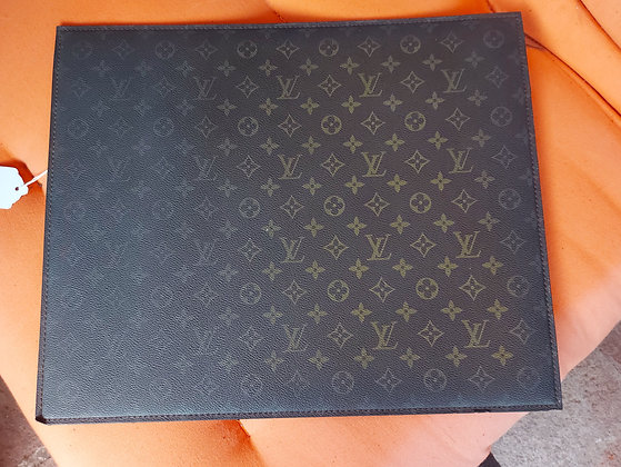 Vintage Louis Vuitton Desk Mat,  Pad.  Original LV Item