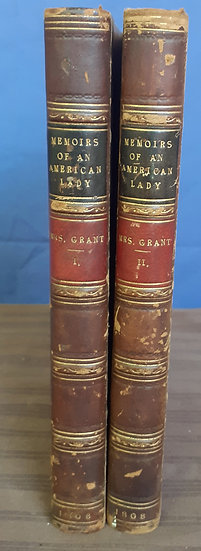 Memoirs of an American Lady London 1808