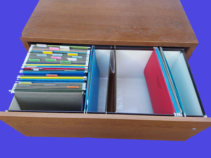 2 Drawer File Cabinet,  Lateral Filing System, Legal and Letter