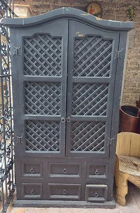 Mexican-Rustic-alacena-closet-storage-cabinet