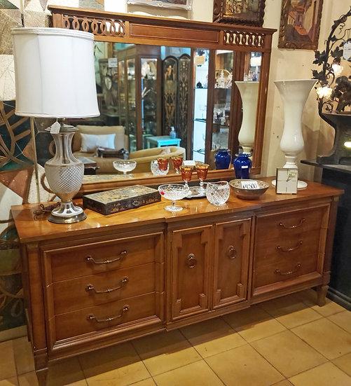 Thomasville Dresser w/ Mirror,  1970's Made in USA