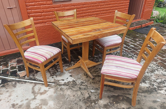 """Restaurant Table, 31"""" sq. Table, 29 1/2"""" tall.  NO Chairs included"""