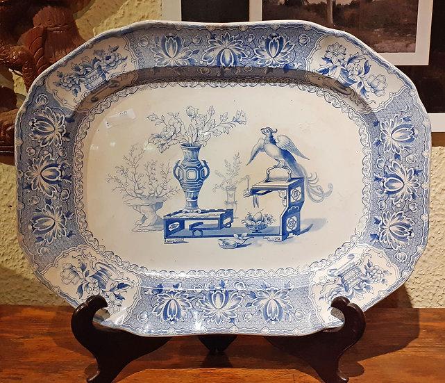 Copeland & Garrett Staffordshire Platter, New Blanche