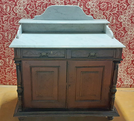 Antique-Marble-Top-Wash-Stand