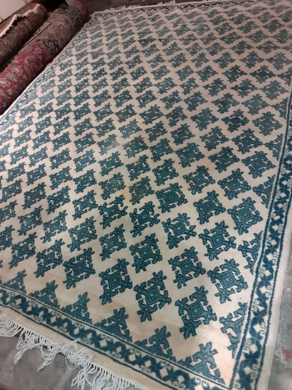 Spanish Cuenca Carpet,  wool,