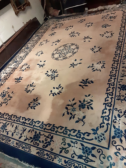 "Classic Design Chinese Rug, 13' 9"" x 9' 10"""