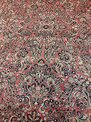 Sarouk Rug, Semi-Antique, 9' x 12'