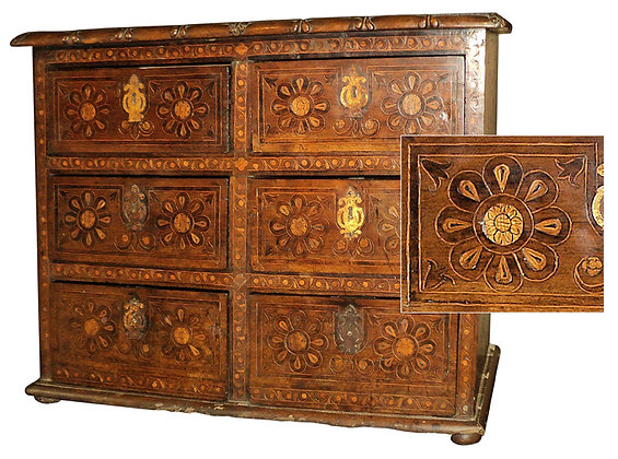18th-C-Sacristy-Chest-Puebla