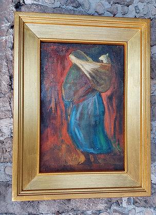 Antonio Vazquez Parra, original oil, signed, dated 1967