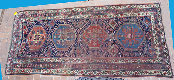 Kazak-long-rug-caucasus-antique