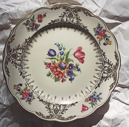 Royal-Bayreuth-plates-Austria-Flowers-Meissen