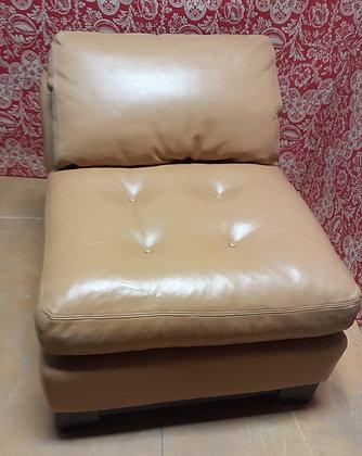 Leather Armless Chair