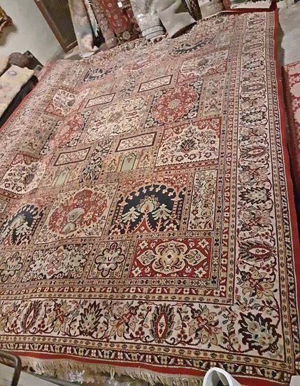 Machine-Made-Mexican-Persian-Rug-garden-carpet-design