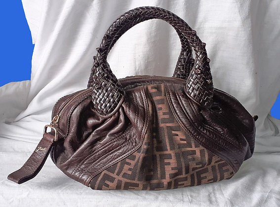 Fendi Tabacco Leather Bag