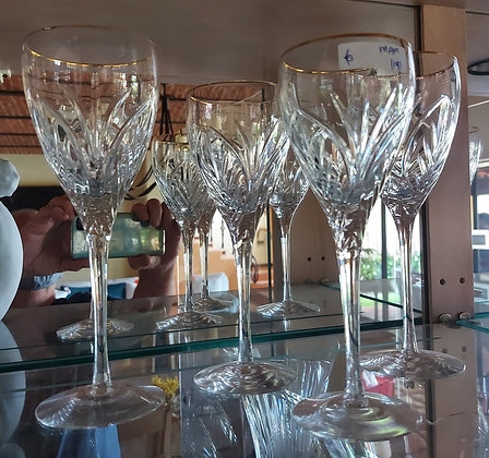 Lenox Stemware, 19 pieces,  Red and White Wines