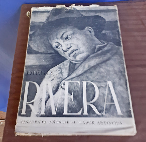 Copy of Diego Rivera Exposition Catalog