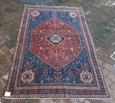 Abadeh Persian Tribal Rug, Iran
