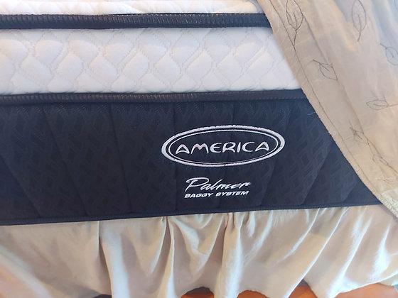 America Palmer System, King Size Mattress and Box