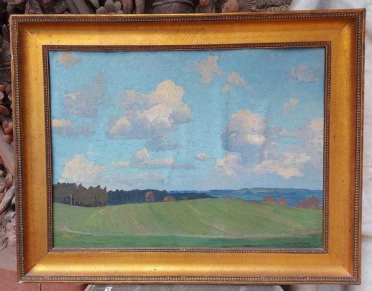 Oscar-Weiss-Swiss-Artist-Original-Oil-Painting