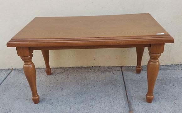 Custom Made  Small Cocktail Table, Primavera Wood